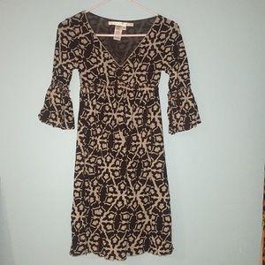 Max Studio Patterned Dress XS